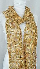 Threadwork Scarf 606 by Andi Shannon  (Stitched Scarf)