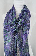 Threadwork Scarf 627 by Andi Shannon  (Stitched Scarf)