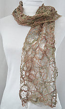 Threadwork Scarf 517 by Andi Shannon  (Stitched Scarf)