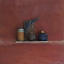 Bronze Still Life 59 by Jack McLean and Alice McLean (Metal Wall Sculpture)