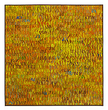 Naranja # 4 by Tim Harding (Fiber Wall Art)