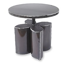Blossom Side Table by Ben Gatski and Kate Gatski (Metal Side Table)