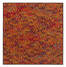 Naranja # 1 by Tim Harding (Fiber Wall Hanging)