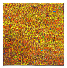 Naranja # 3 by Tim Harding (Fiber Wall Hanging)