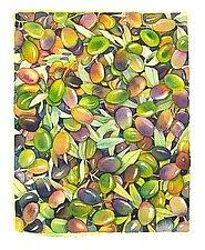 Olives by Marlies Merk Najaka (Pigment Print)