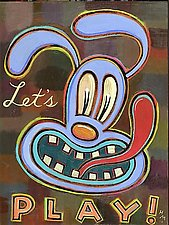 Let's Play! by Hal Mayforth (Giclee Print)