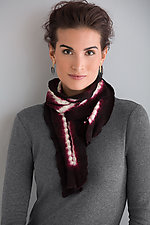 Ana Lisa Wool Stitched Scarf by Laura Hunter  (Wool Scarf)