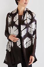 Flat Silk Petal Scarf by Laura Hunter  (Silk Scarf)