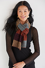 Large Mstari Scarf by Robin L Bergman (Chenille Scarf)