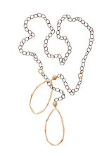 Ryman Lariat by Julie Cohn (Silver & Bronze Necklace)