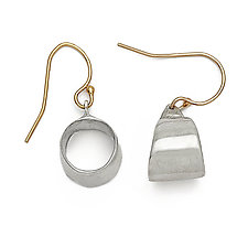 Sterling Tribal Hoop by Julie Cohn (Silver Earrings)