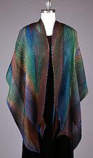 Peacock Shawl by Min Chiu and Sharon Wang (Silk Wrap)