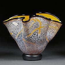 Sunny Splash by Eric Bladholm (Art Glass Bowl)