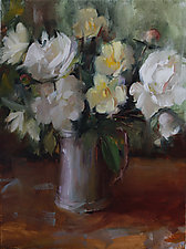 Hand Picked by Leslie Dyas (Oil Painting)