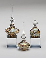 Cherry Blossom Perfume Bottles: Aspen by Bryce Dimitruk (Art Glass Perfume Bottle)