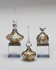 Cherry Blossom Perfume Bottles: Aspen by Bryce Dimitruk (Art Glass Perfume Bottle)