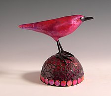 Rosie by Patty Carmody Smith (Mixed-Media Sculpture)