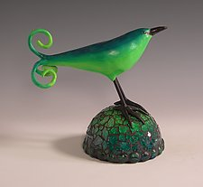 Sweet Pea by Patty Carmody Smith (Mixed-Media Sculpture)
