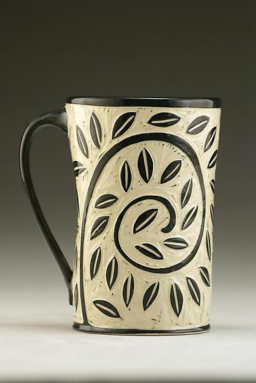 Vine and Leaf Mug