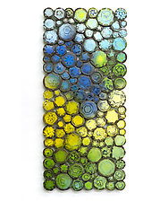 Cool Waters by Susan Madacsi (Metal Wall Sculpture)
