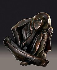 Dreamer No 1 by Dina Angel-Wing (Bronze Sculpture)