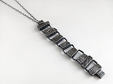 Totem Pendant by Jane Pellicciotto (Silver Necklace)