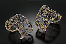 Two-Tone Tangles by Tana Acton (Gold & Silver Bracelet)