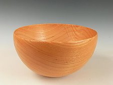 Modesto Ash Rocking Bowl by Dewey Garrett (Wood Vessel)