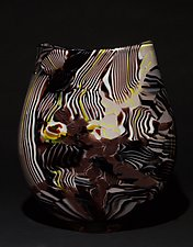 Stratum II by James Friedberg (Art Glass Vase)