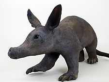 Aardvark by Ronnie Gould (Ceramic Sculpture)