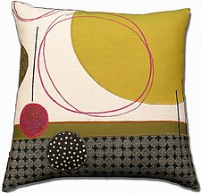 Moons by Susan Hill (Fiber Pillow)
