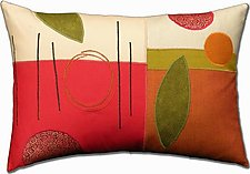 Fall Favorite by Susan Hill (Fiber Pillow)
