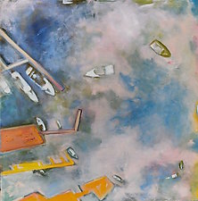 Dream Boats by Suzanne DeCuir (Oil Painting)