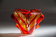 Venice Variations Vase by Varda Avnisan (Art Glass Vase)