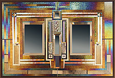 Portico by Thomas Meyers (Art Glass Mirror)