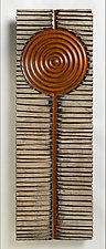 Sacral by Kipley Meyer (Wood Wall Sculpture)