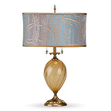 Ashton by Susan Kinzig and Caryn Kinzig (Mixed-Media Table Lamp)