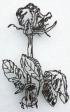 Rose by Paul Arsenault (Metal Wall Sculpture)