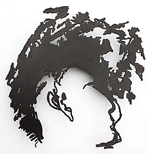 Face IV by Paul Arsenault (Metal Wall Sculpture)