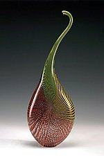 Irevese by Anthony Gelpi (Art Glass Sculpture)