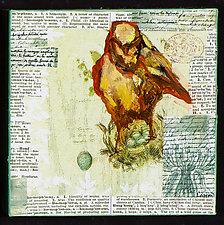Bird Box by Janice Sugg (Oil Painting)