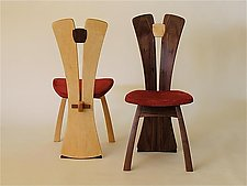 Split-Back Chair by Steven M. White (Wood Chair)