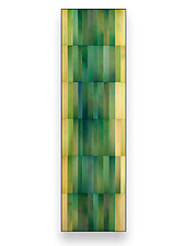 Emerald by Robert A. Brown and Anne Moran (Metal Wall Sculpture)