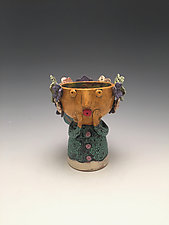 Isi - Chalice Angel by Lilia Venier (Ceramic Vessel)