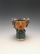 Isi - Chalice Angel by Lilia Venier (Ceramic Vessel)