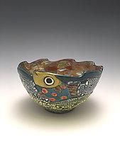 Catch Me by Lilia Venier (Ceramic Bowl)