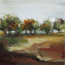 Landscape  209 by Karen  Hale (Acrylic Painting)