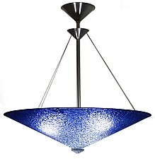 Cobalt Fade by George Scott (Art Glass Pendant Lamp)