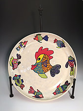 Fish Platter by Jean Elton (Ceramic Platter)