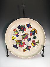 Fish Platter II by Jean Elton (Ceramic Platter)